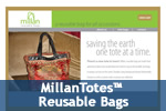 MillanTotes™ Reusable Bags